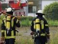 Brand in leerstehender Fabrik in Neunkirchen