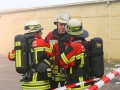 Brand Sperrmüllhaufen Burbach (1)