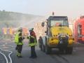 Brand Sperrmüllhaufen Burbach (3)