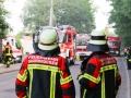 Brand Sperrmüllhaufen Burbach (4)