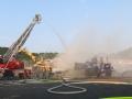 Brand Sperrmüllhaufen Burbach (6)