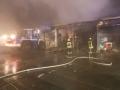 Lagerhallenbrand Neunkirchen 2-10