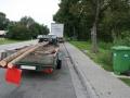 """Foto: Ein """"Langholztransporter"""" der besonderen Art wurde am Mittwoch auf der A6 gestoppt"""