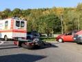 Motorradunfall Kreisel-2
