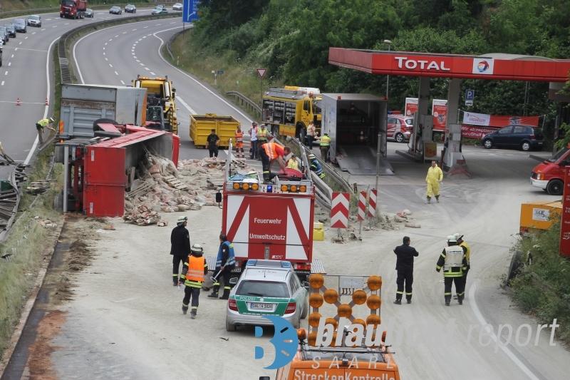 Unfall A620 Heute Bilder
