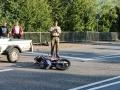 Auto rammt Biker-2