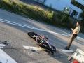 Auto rammt Biker-4