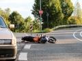 Auto rammt Biker-5
