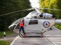 Unfall-Rettungshubschrauber