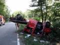 Schwerer Unfall auf der L163