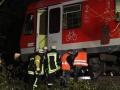 Regionalbahn kracht in umgestürzten Baum 3