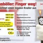 Infografik: Die BAM warnt - Polenböller: Finger weg!