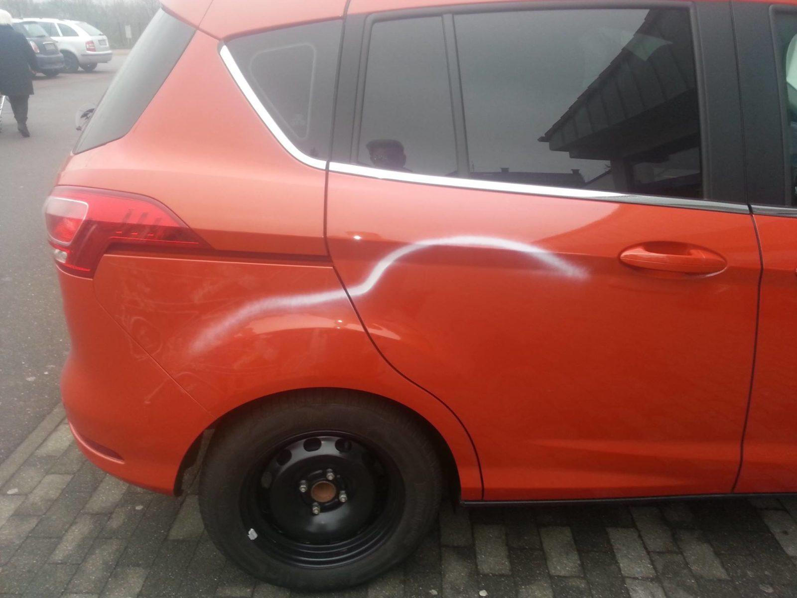 Erneut mehrere Fahrzeuge in Völklingen durch Farbschmierereien beschädigt - Blaulichtreport-Saarland