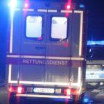 Die Polizeibeamten werden Medizinisch versorgt