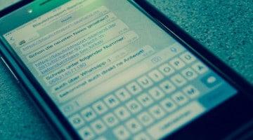 Whatsapp Betrug Symbolbild