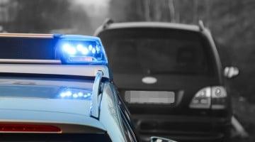 Symbolbild Polizei Unfall