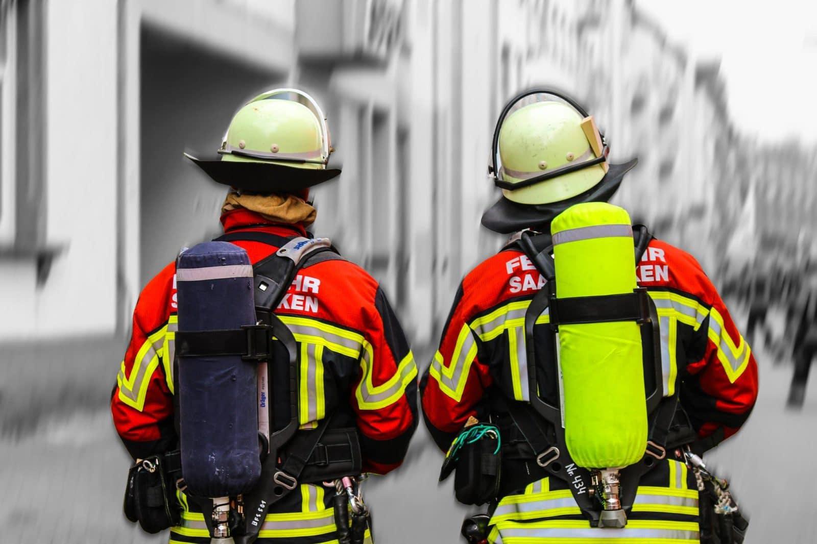 Symbolbild Feuerwehr Atemschutz