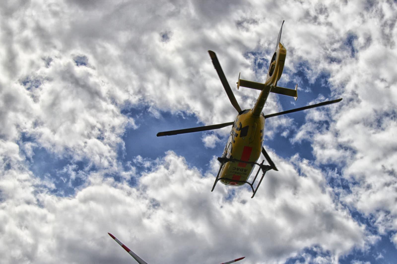 Symbolbild Hubschrauber