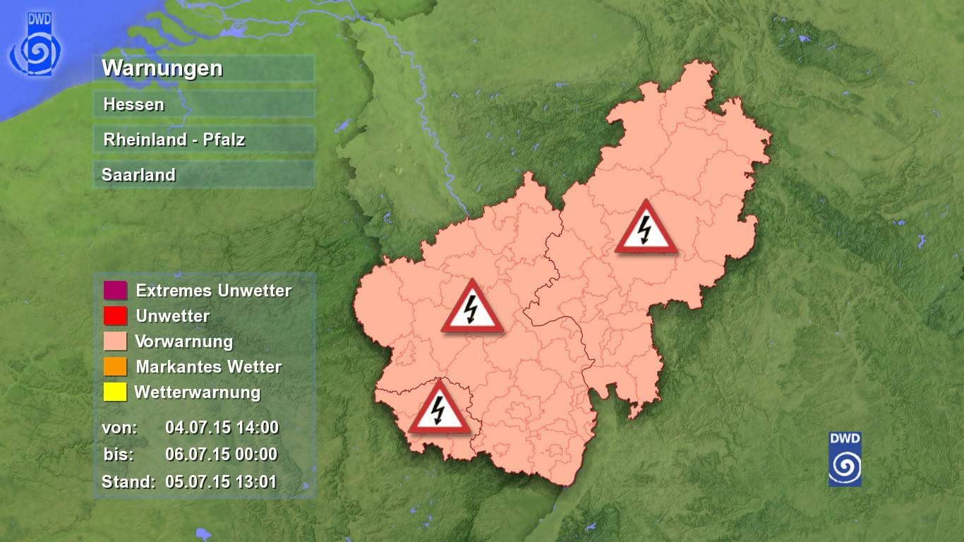 Unwetter In Rheinland Pfalz Heute