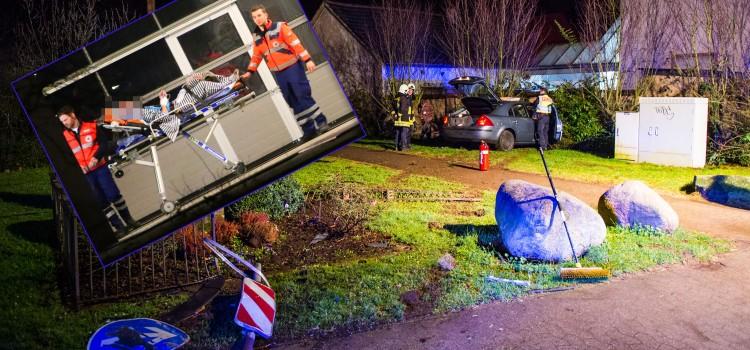 Unfall-Schwarzenholz