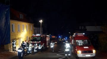Familie bei Feuer gerettet