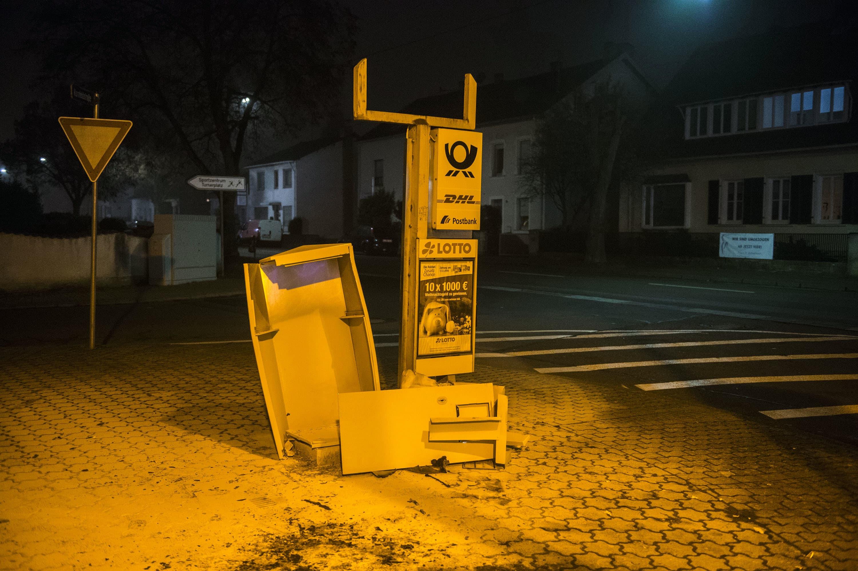 Briefkästen Saarbrücken briefkasten gesprengt blaulichtreport saarland de