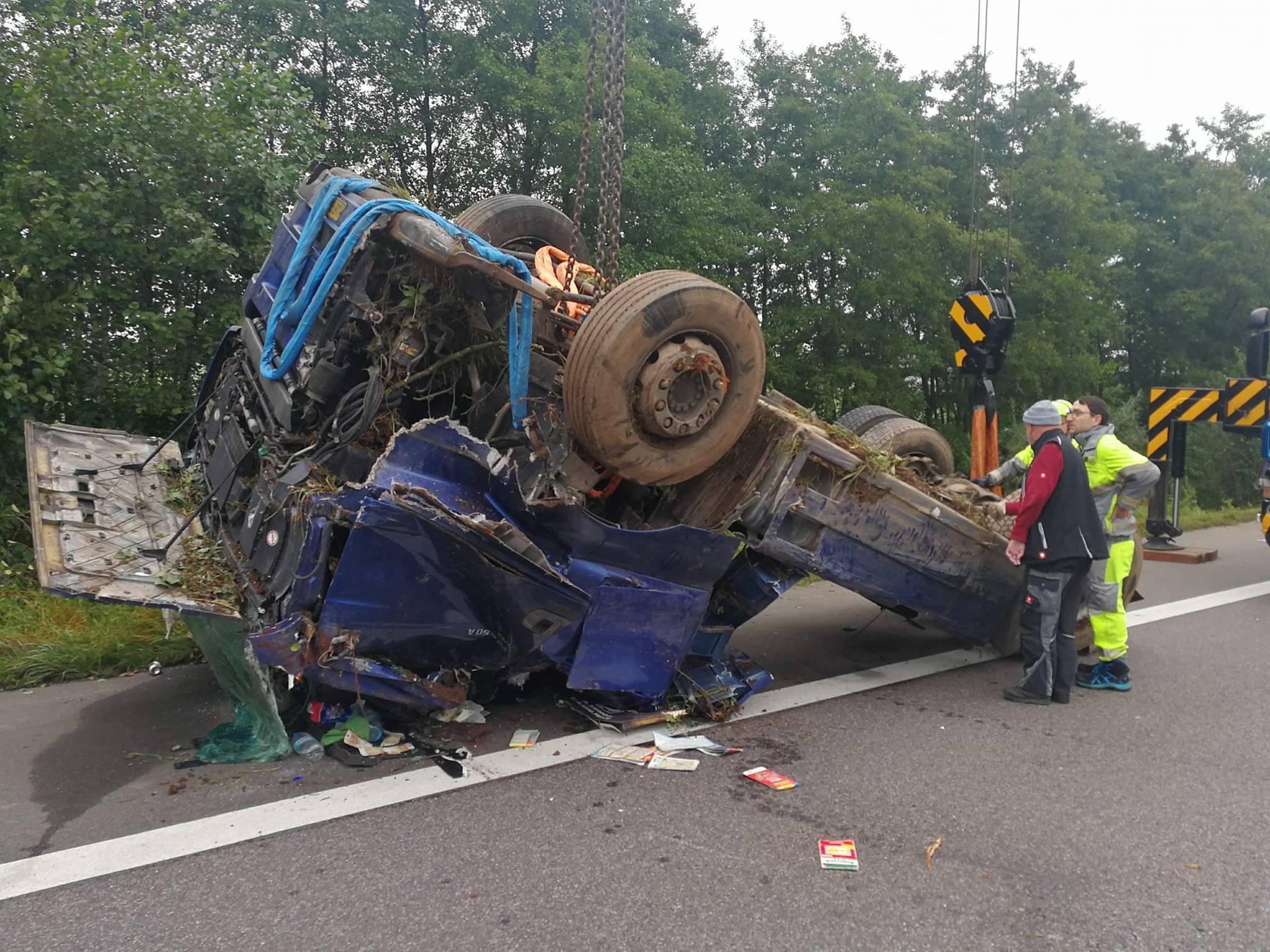 Lkw Unfall A8 Heute