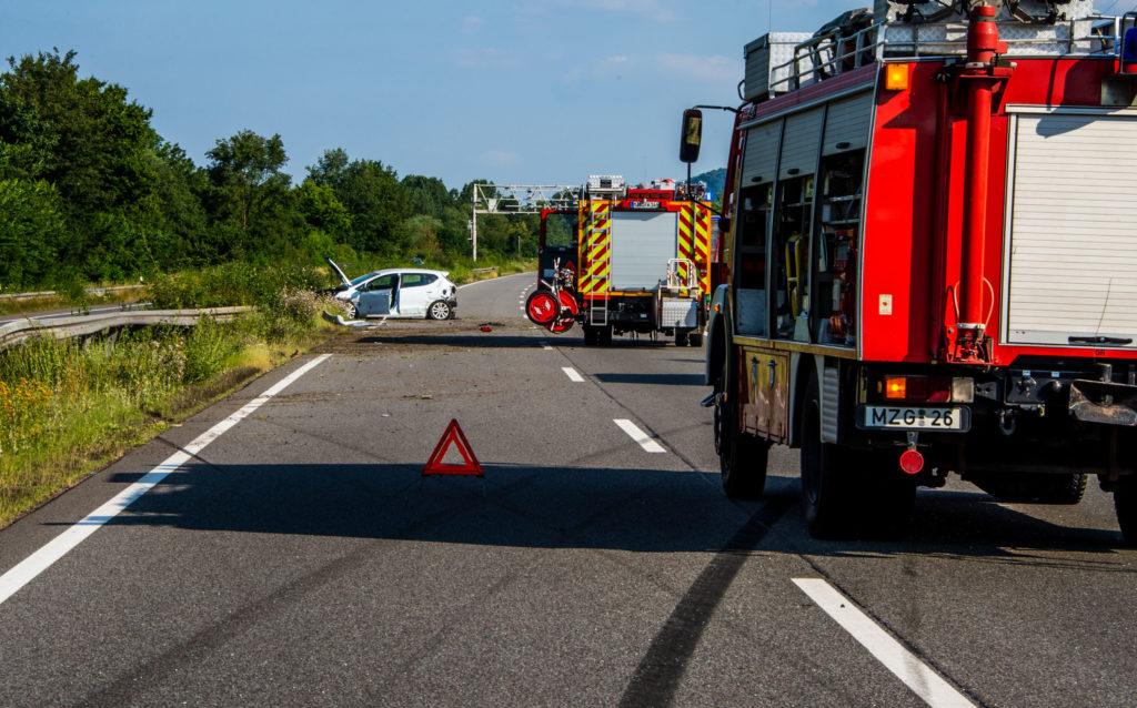 Verkehrsunfall A8