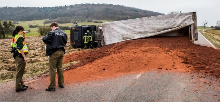 LKW-Unfall-Hargarten