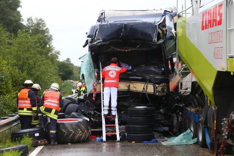 A6 Lkw Unfall Heute
