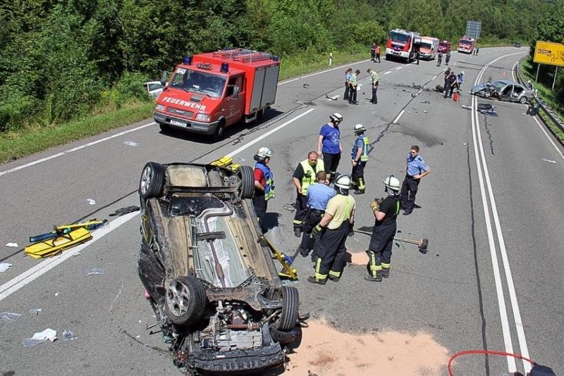 Unfall B268 Heute