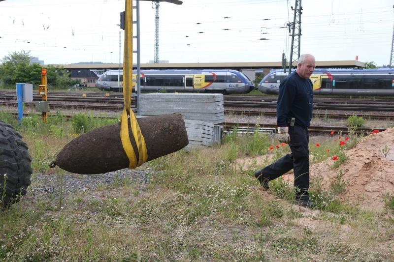 Neunkirchen: Experten haben Bombe erfolgreich entschärft