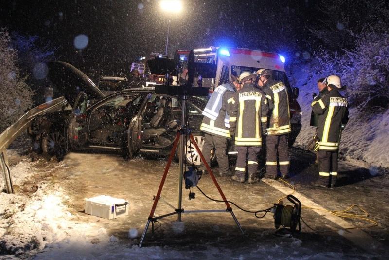 Unfall L370 Merzig