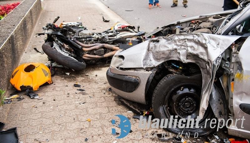 Motorrad-Unfall-Schwalbach